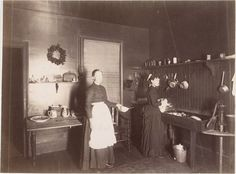 kitchen in 1880s - Google Search