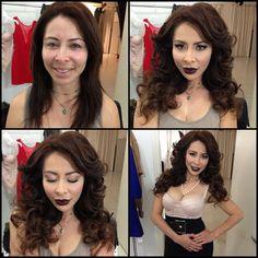 Fotos de moda | 22 Actrices porno con y sin maquillaje | http://soymoda.net