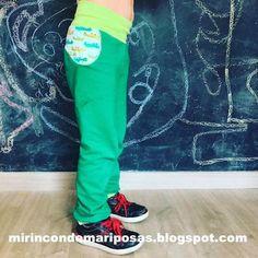mi rincón de mariposas: Pantalón básico MRdM - con bolsillos en 1 pieza (t... Mermaid Slime, Edible Slime, Perfect Fit, Free Pattern, Pajama Pants, Sweatpants, Ideas Para, Patterns, Fashion