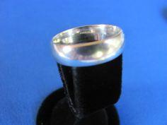 SALE 35% off Vintage sterling silver wide by BonniesGreatFinds