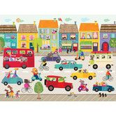 Found it at Wayfair - Fun Street Frenzy Canvas Art