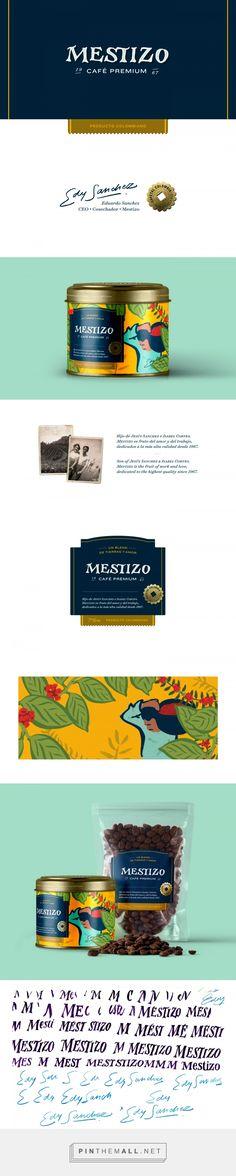 Mestizo Colombian Coffee packaging design by Manuele Mancini - https://www.packagingoftheworld.com/2018/05/mestizo-colombian-coffee.html