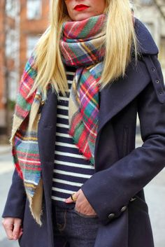 Lovely fall outfits with wool blend pea-coat