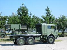 ZiL M87 Orkan Rocket System 262mm