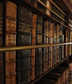 I've always loved the idea of having a community bookshelf in restaurant.