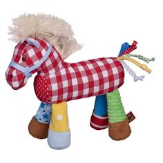 Horse Squeaker Baby Toy