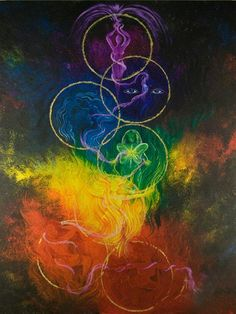 When all of our chakras are purified enough for divine energy to flow through each one of them, our crown chakra and higher chakras open and expand and a powerful euphoric blissful energy flows through our entire being. ~Sabrina...♥f♥