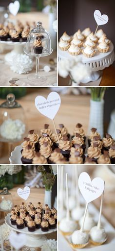 Desserts for wedding
