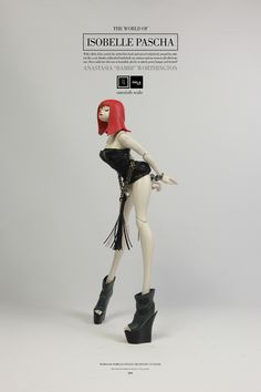 """The World Of Isobelle Pascha - Anastasia """"Bambi"""" Worthington available on 20-03-15 for $140 USD and price includes free worldwide shipping. More info about this release: http://www.worldofthreea.com/threea-production-blog/wg7k278zcb2dbpdvd1gxriftvz3edm #threeA #AshleyWood #Worldof3A #WOIP #GALA #artpiece #toy #actionfigure #toyplanet #toycommunity #toys #hobby #toycollector #art #collectibles #vinyl #designertoys #toyphoto #toyphotography #collecting #toylife #onesixth #onesixthscale"""