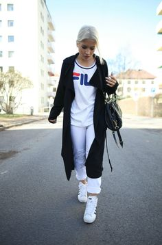 fila outfits. Blogger Heidichic In The JUNKYARD XX-XY // FILA Collab. Fila Outfits