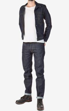 Edwin 49 Pant Red Listed Selvage Denim 14oz Cookson & Clegg