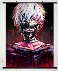 Popular Anime Tokyo Ghoul Kaneki Ken Home Decor Poster Wall Scroll Japan 029