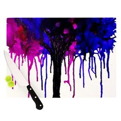 Kess InHouse Claire Day 'Weeping Willow' Cutting Board