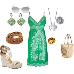 Picnic in the Park, created by firefly7522 on Polyvore