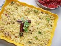 Give a different twist to your normal ghee rice and make it more flavourful. Roast Recipes, Veg Recipes, Indian Food Recipes, Chicken Recipes, Cooking Recipes, Keema Recipes, Indian Foods, Vegetarian Cooking, Kitchens