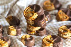 Cookie Dough Pretzel Bites | optional glutenfrei | eifrei | Bretzel-Häppchen | KochTrotz