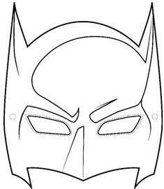 Batman Coloring Pages For Kids 2 from Batman Coloring Pages. Many children, especially boys like and even idolize the character of superheroes. One of their favorite one is Batman. Batman is a superhero fictiona. Batman Birthday, Batman Party, Superhero Birthday Party, Boy Birthday, Birthday Parties, Batman Mask Template, Le Joker Batman, Superman Mask, Batman Superhero