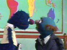 Sesame Street - Waiter Grover - Airport Restaraunt