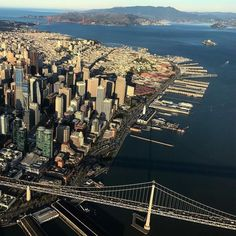 San Francisco from above by Ron @sky1ron