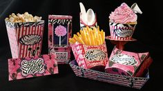 Cheerleader Birthday Party Pack  Printable  by SweetBootique, $25.00