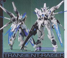 GUNDAM GUY: 1/144 Transcient Raiser - Custom Build