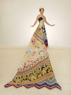 Fiesta ball gown