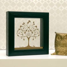 Personalised Mini Heart Family Tree Papercut by Urban Twist, the perfect gift for Explore more unique gifts in our curated marketplace. Personalised Family Print, Personalised Gifts, Family Tree Frame, Family Trees, Crafts With Pictures, Mini Heart, Floating Frame, Gifts For Family