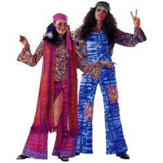 Woodstock Femme code produit : 48-021, 48-022, 48-023 et 48-024 4 pièces : Chemisier, Pantalon, Gilet et Bandana. Taille(s) : 40 et 42  et Woodstock Homme code produit : 948-025, 948-026 et 948-027 3 pièces : Chemise, Salopette et Bandeau. Taille(s) : 50 et 54.