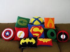 Found on deviantART by http://sailoranime.deviantart.com/art/Super-Hero-Pillows-279170926?q=boost%3Apopular%20green%20arrow=1907