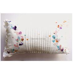 Pillow made with @sizzix Bigz die heartfelt. http://scrapmanufaktur.blogspot.ch/2015/04/alles-rund-ums-herz-sizzix-bigz-die.html?m=1