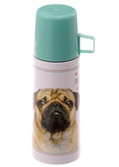 "Thermosflasche 350 ml Edelstahl ""Mops"" Puckator http://www.amazon.de/dp/B017BBJWUO/?m=A105NTY4TSU5OS"