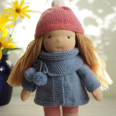 Handmade Waldorf doll from Duniasha Toys                                                                                                                                                                                 More