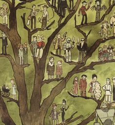 """The Cult Tree"" by Scott Campbell  watercolor  20"" x 30""  2008"