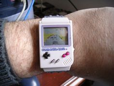 Nintendo Game Boy Watch - I NEED it!