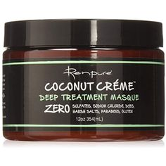 Renpure Coconut Creme Deep Treatment Masque, 12 Ounce ** Want to know more, click on the image. (This is an affiliate link) Cleansing Conditioner, Hair Conditioner, Revlon, Best Beard Care Products, Creme, Coconut Hair Mask, Dry Brittle Hair, Beard Trimming