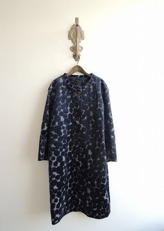 "image of the coat of mina perhonen | Natural brand old clothes home delivery, mail order purchase ""drop (drop)"""
