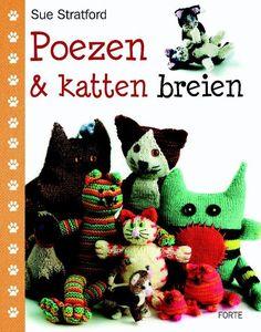 Poezen en katten breien - Sue Stratford - 9789058775269