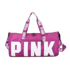 PINK waterproof Duffel Bag. ShopsDuffel BagHoliday BeachLarge BagsYoga ... 9c55105578