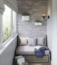 Interior Balcony, Apartment Balcony Decorating, Apartment Design, Small Balcony Design, Small Balcony Decor, Homemade Home Decor, Home Room Design, Cool House Designs, House Rooms