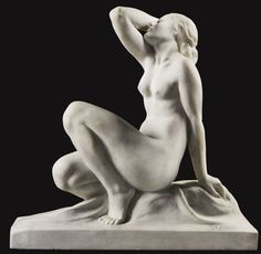 Jean Ortis French, active 20th century RECLINING NUDE