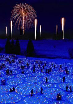 大地の芸術祭の里 Gift for Frozen Village, Niigata, Japan