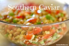 Fresh and Delicious Southern Caviar Dip. I love offering this amazing dip for those low carb lovers and even the kids gobble it up.