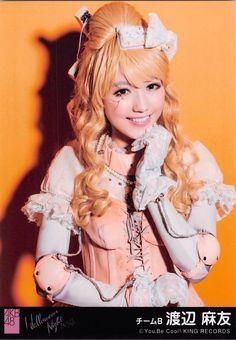Watanabe Mayu (渡辺麻友) - #Mayuyu (まゆゆ) - Team B - #AKB48 #idol #jpop #1 #sexy #beautiful #pretty #cute #gravure #cosplay
