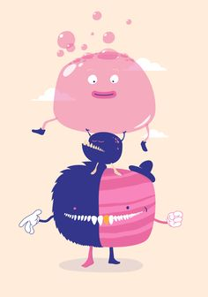 Your Monster by André Britz, via Behance
