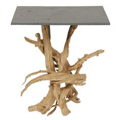 Antique and Modern Furniture, Jewelry, Fashion & Art Driftwood Table, Driftwood Furniture, Driftwood Projects, Cool Furniture, Modern Furniture, Furniture Ideas, Root Table, Rustic Lamps, Selling Furniture