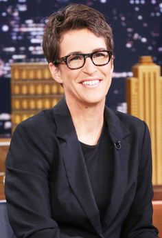 Rachel Maddow, host of MSNBC's 'The Rachel Maddow Show,' shared 25 interesting things about herself with Us Weekly — read more! Rachel Maddow, Two Spirit, Brave Women, Important People, News Anchor, Hollywood, Hair 2018, Sex And Love, Older Men