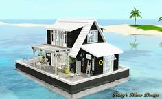 Sims3 The Floating Barn 水上船屋 - Ruby's Home Design