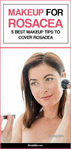 Best Makeup For Rosacea, Best Makeup Tips, Best Makeup Products, Makeup Tricks, How To Apply Concealer, Best Concealer, How To Apply Makeup, Where To Apply Blush