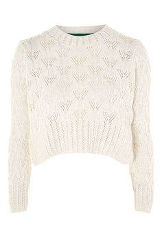 Geo Stitch Sweater