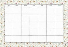 milowcostblog: Esther Gili y planificadores mensuales